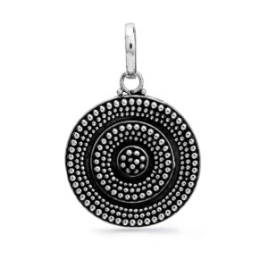 Amed Silver Pendant - Handcrafted Sterling Silver Jewellery from Bali by Nusa