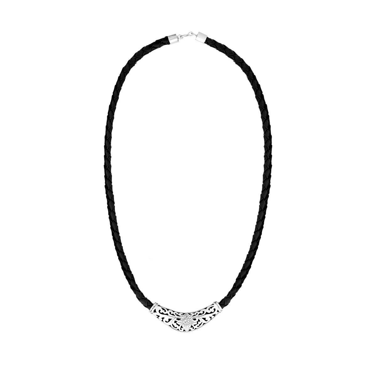 Batukaru Silver Necklace