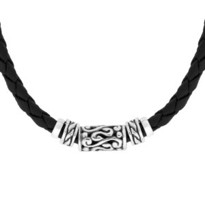 Batur Silver Necklace - Handcrafted Sterling Silver Jewellery from Bali by Nusa