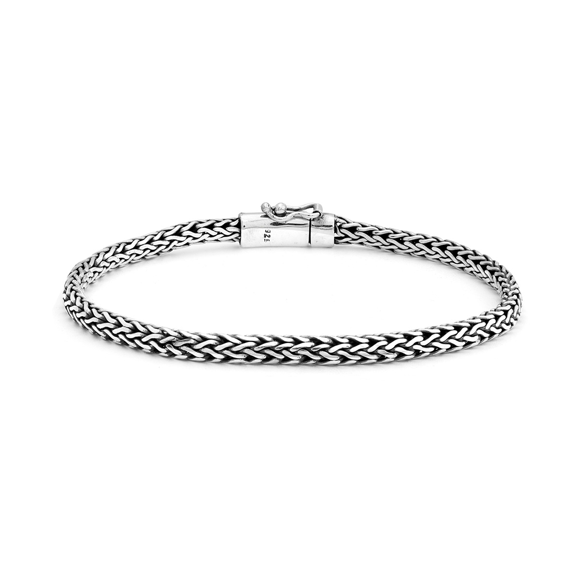 Bratan Silver Bracelet - Handcrafted Sterling Silver Jewellery from Bali by Nusa
