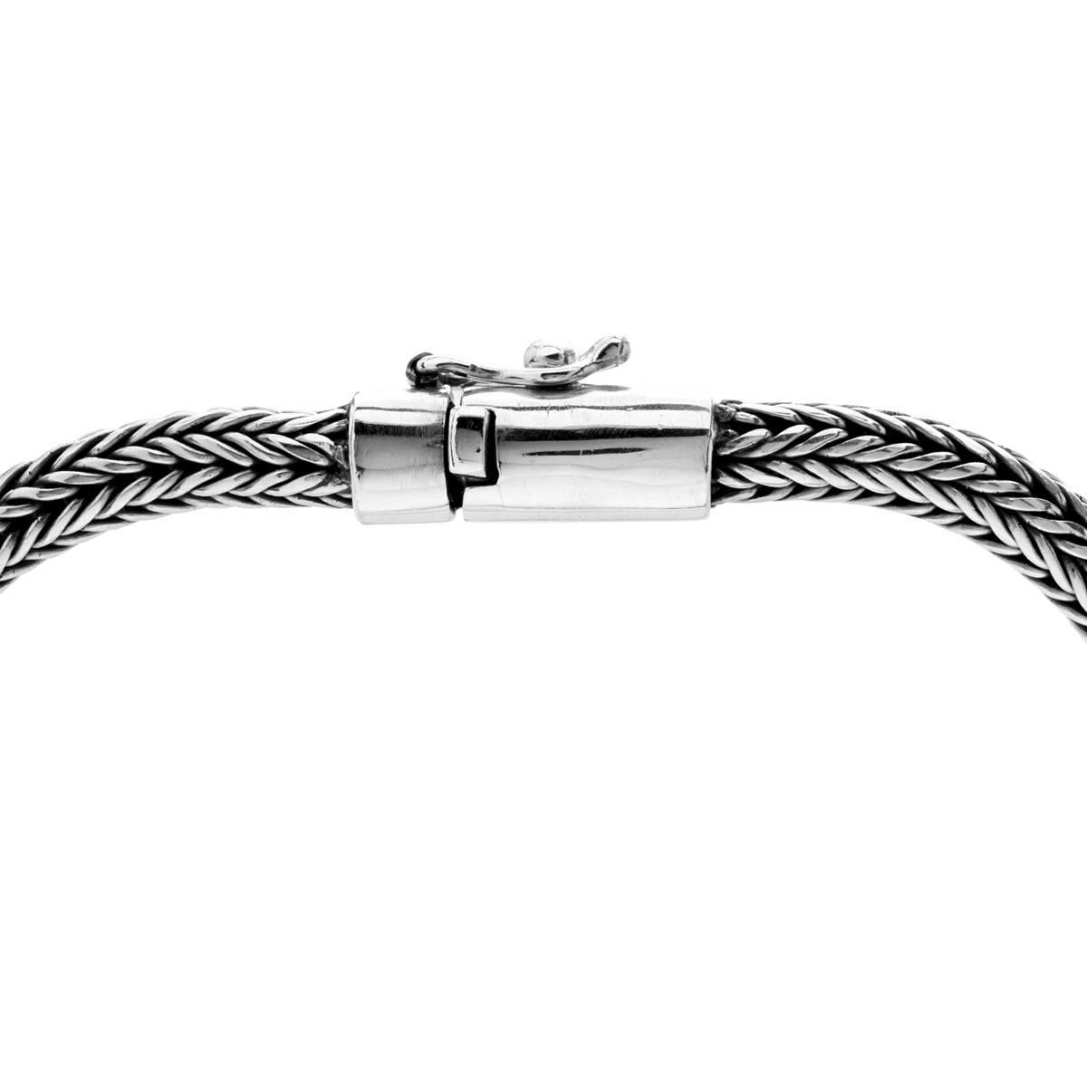 Bratan Silver Chain Necklace