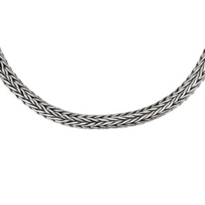 Canggu Silver Chain Necklace - Handcrafted Sterling Silver Jewellery from Bali by Nusa