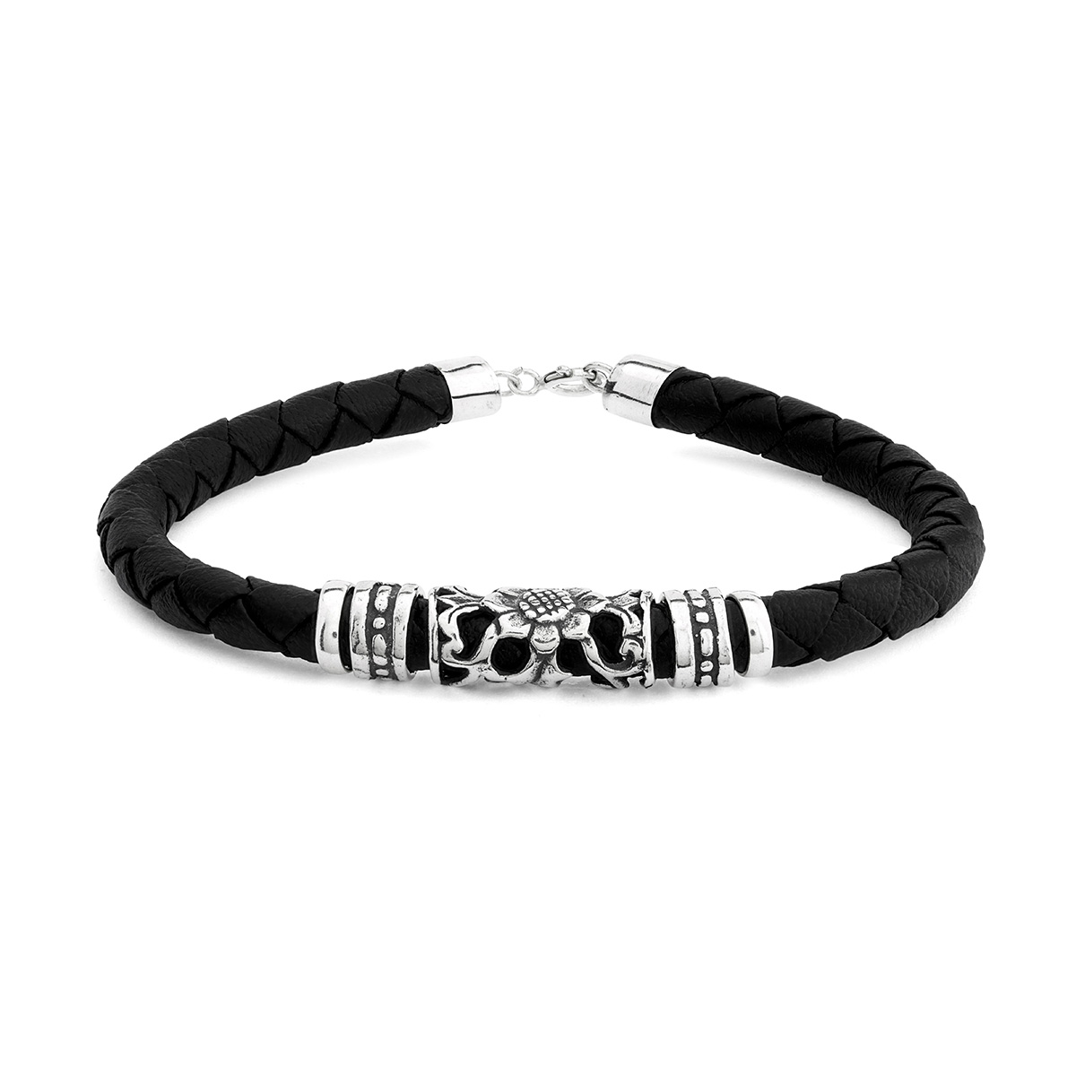 Catu Silver Bracelet - Handcrafted Sterling Silver Jewellery from Bali by Nusa