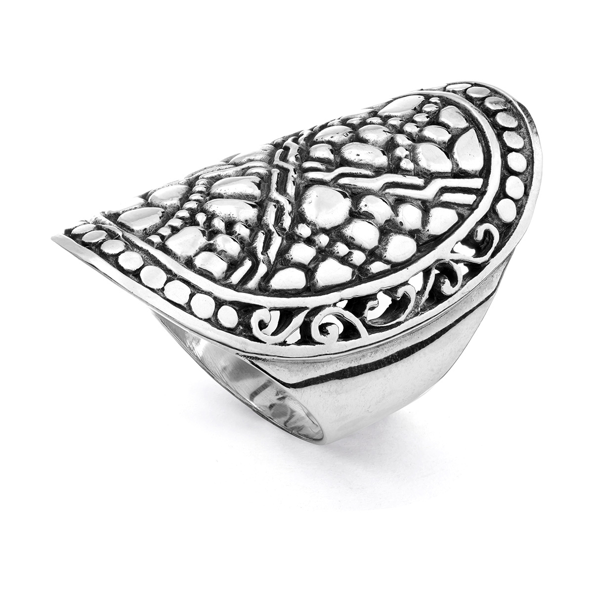 Geger Silver Ring