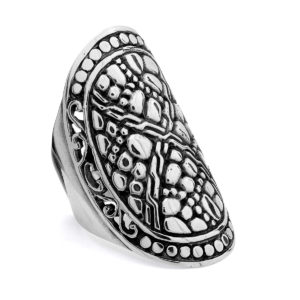 Geger Silver Ring - Handcrafted Sterling Silver Jewellery from Bali by Nusa