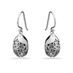 Kelinci Silver Earrings - Handcrafted Sterling Silver Jewellery from Bali by Nusa