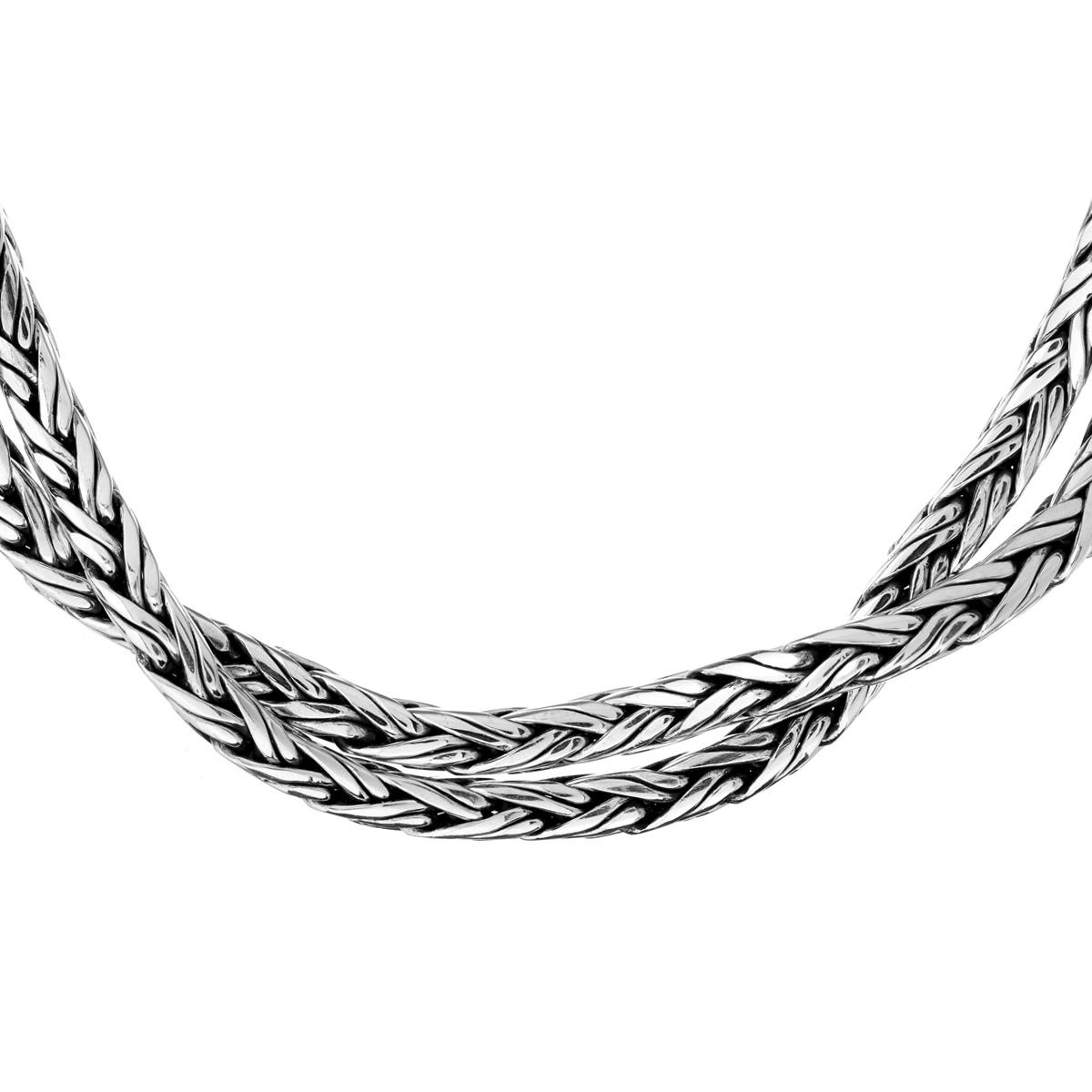 Lakshmi Silver Necklace