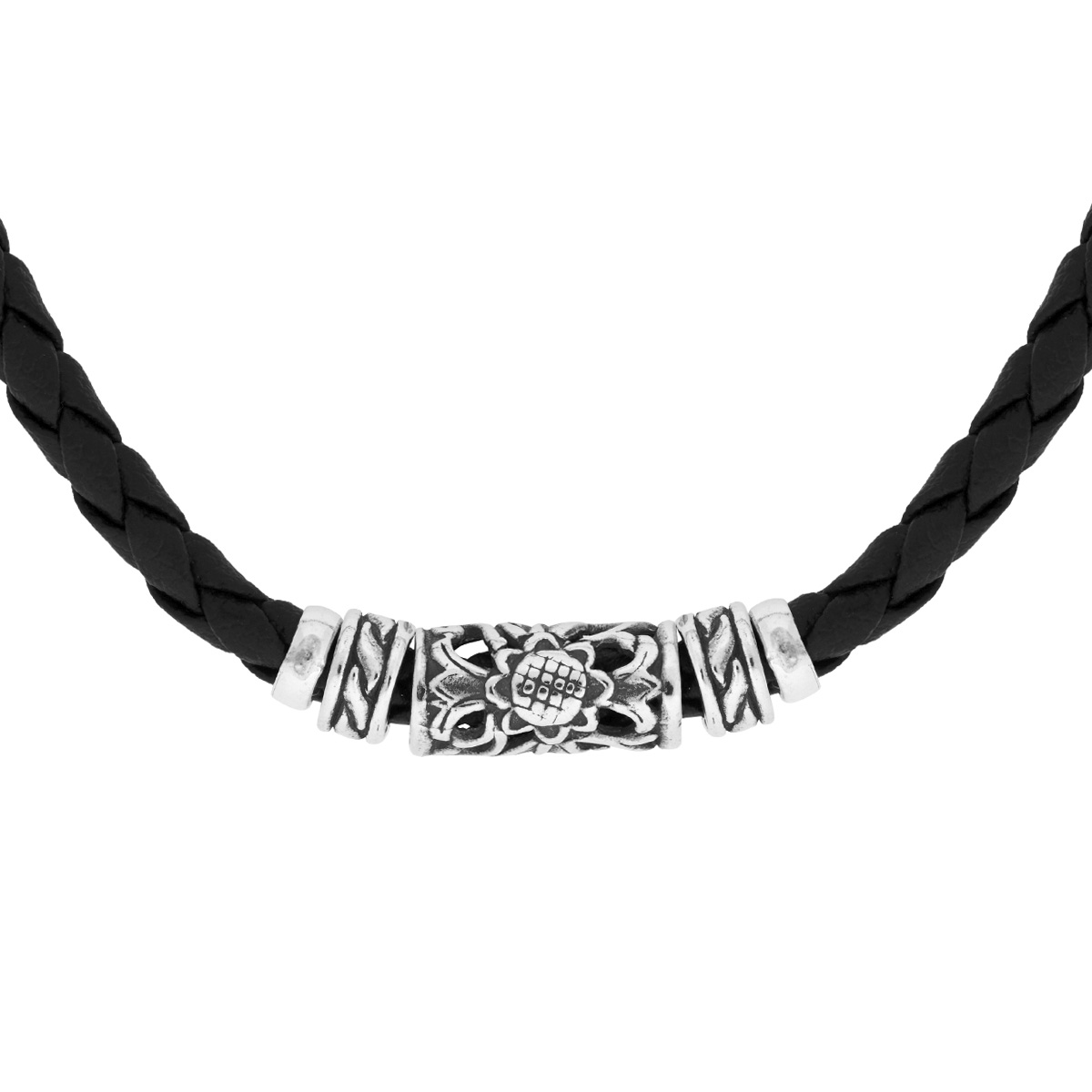 Lempuyang Silver Necklace - Handcrafted Sterling Silver Jewellery from Bali by Nusa