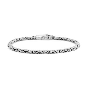 Medewi Silver Bracelet - Handcrafted Sterling Silver Jewellery from Bali by Nusa