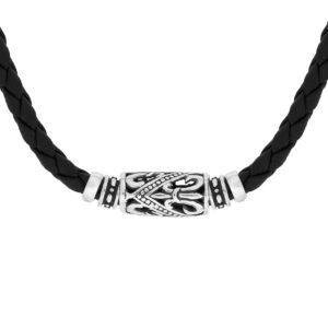 Merbuk Silver Necklace - Handcrafted Sterling Silver Jewellery from Bali by Nusa