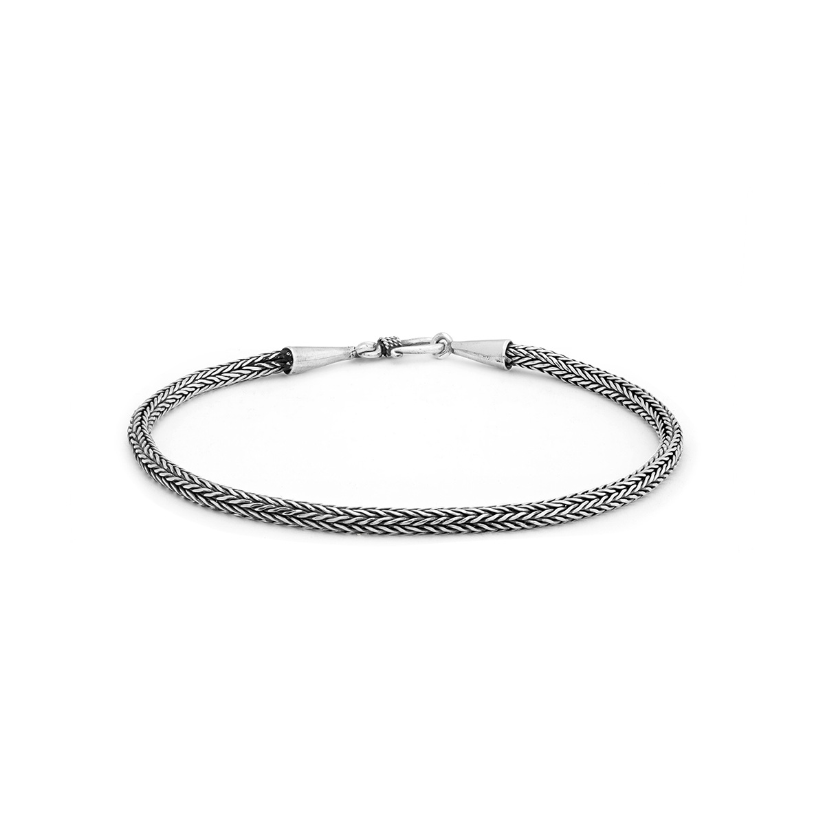 Nyang Silver Bracelet - Handcrafted Sterling Silver Jewellery from Bali by Nusa