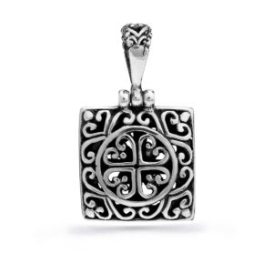 Palasari Silver Pendant - Handcrafted Sterling Silver Jewellery from Bali by Nusa