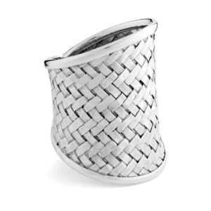 Saluban Silver Ring - Handcrafted Sterling Silver Jewellery from Bali by Nusa
