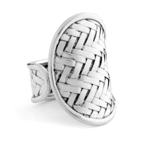 Soka Silver Ring - Handcrafted Sterling Silver Jewellery from Bali by Nusa