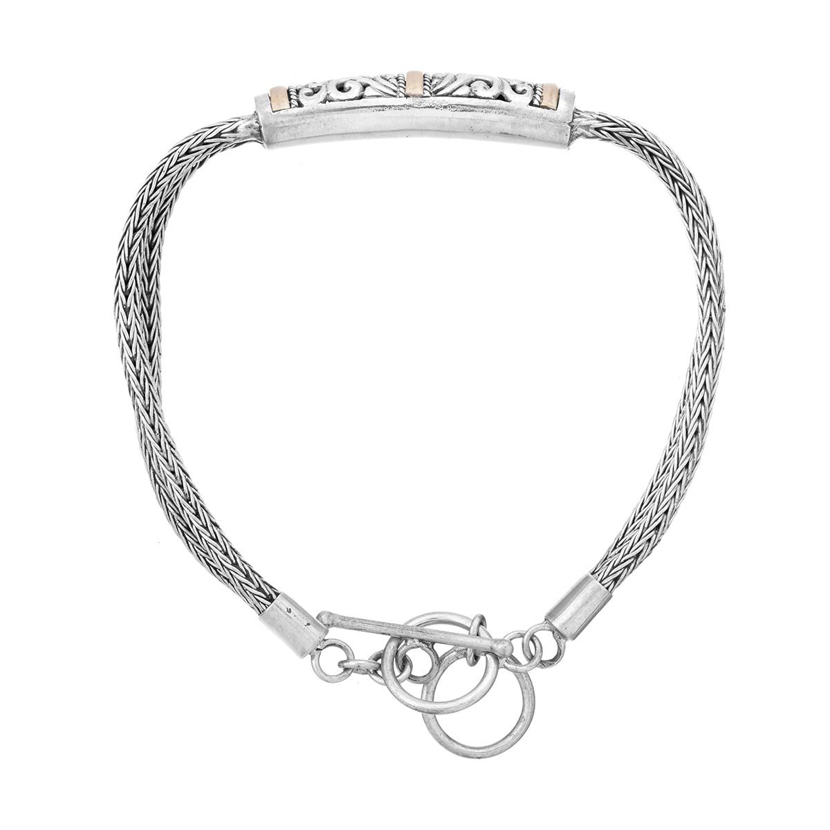 Tanjun Silver Bracelet